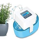Landrip DIY Sistema de Riego, automático Vacaciones Dispositivos de riego Kit con 33 ft Manguera para Flores, Terraza, Jardín o Plantas de Maceta