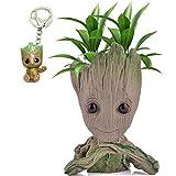 Udream Baby Groot Maceta - Maravillosa Figura de acción de Guardians of The Galaxy para Plantas y bolígrafos - Perfecto como Regalo - Soy Groot