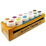 Quay PSC12 - Macetas de Colores (acrílico, 12 Unidades), Multicolor